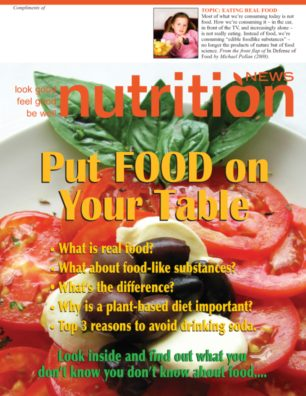 Nutrition News Put Real Food On Your Table