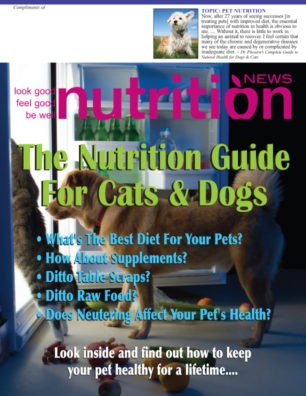 Pet Nutrition cover mage