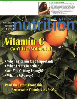Nutrition News Vitamin C - 2017 Cover