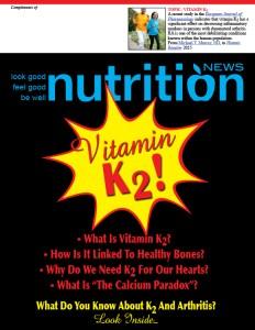 Nutrition News Vitamin K2Cover