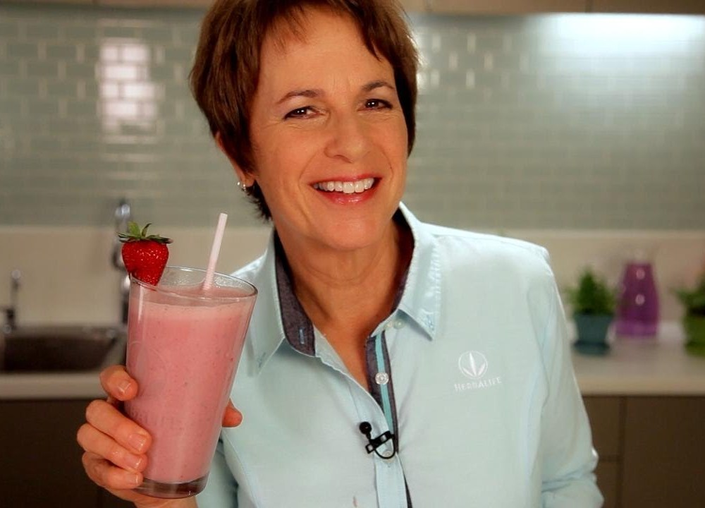 Try A Herbalife Strawberry Mint Nutrition Shake