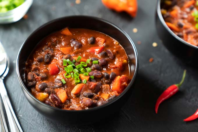 vegan chili with beans