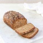 flaxseed bread - vegan, paleo, keto, made from flaxseeds