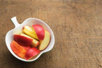 التفاح بدلا من القهوة