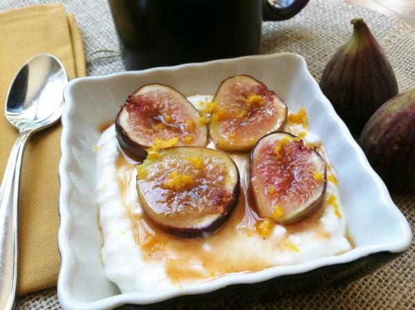 Honey-Orange Glazed Figs