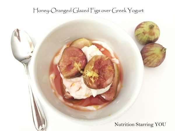 Honey-Orange Glazed Figs