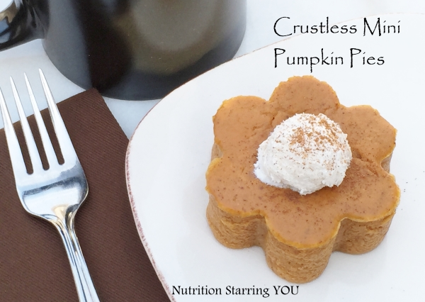 Crustless Mini Pumpkin Pies