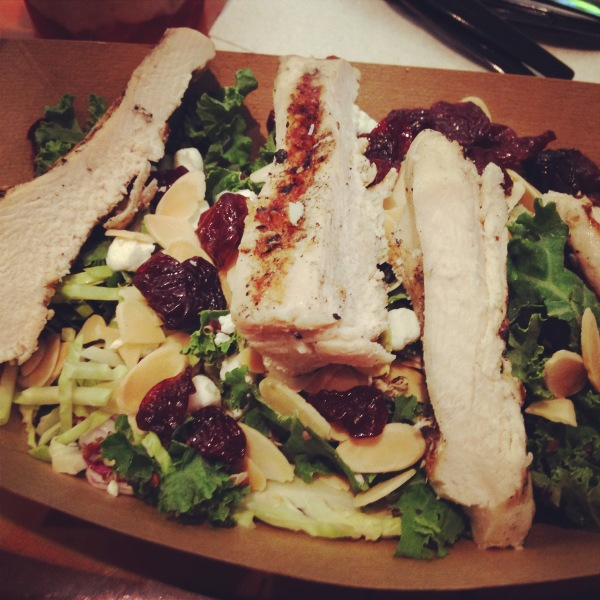Power Salad with Quinoa and Grilled Chicken at Sunshine Seasons