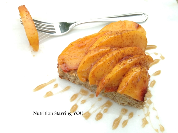 Maple Peach Oatmeal Breakfast Pie