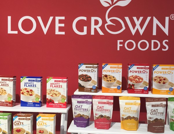 Love Grown Foods Power O's Cereals