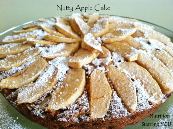 Nutty Apple Cake