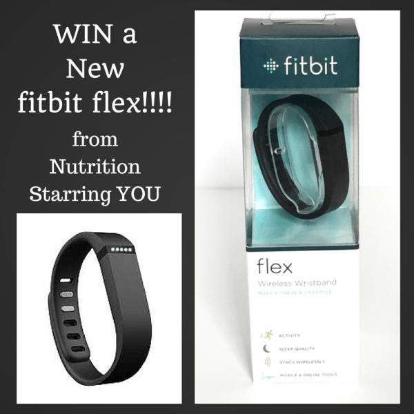 WIN a fitbit flex!!!
