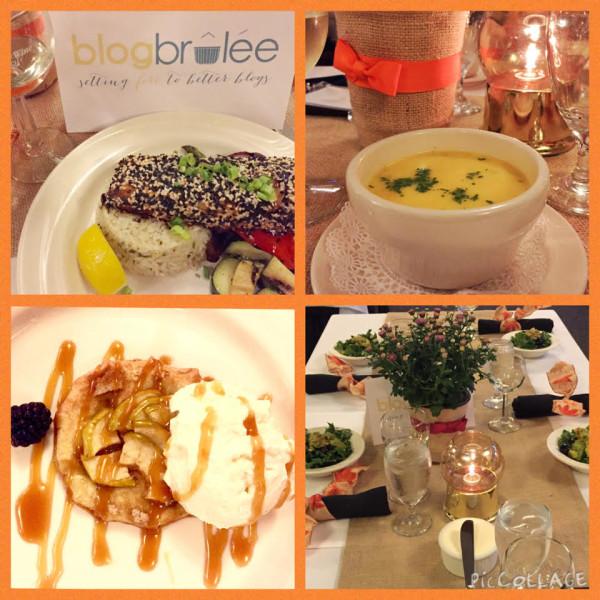 Delicious dinner at Blog Brulee
