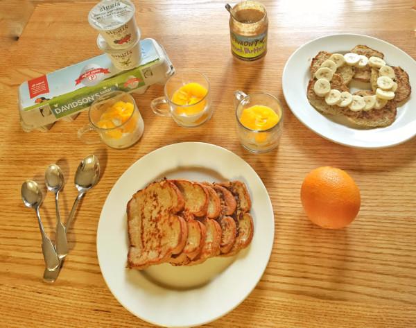 Our Condo Breakfast Feast
