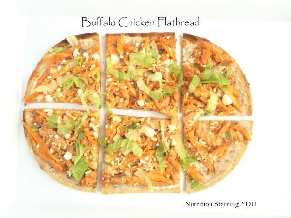 Buffalo Chicken Flatbread