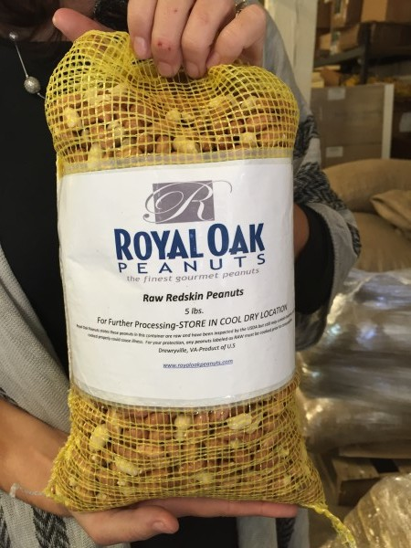 Royal Oak Peanuts from Hope and Harmony farms