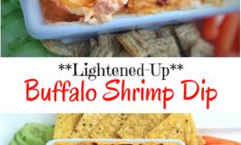 Lightened-Up Buffalo Shrimp Dip