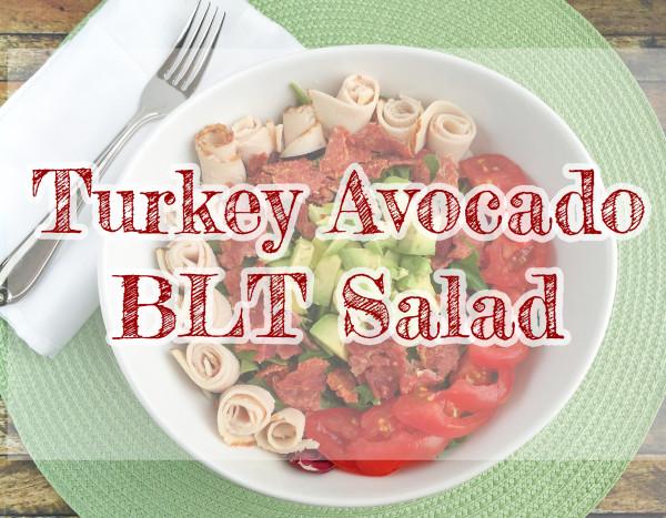 Turkey Avocado BLT Salad