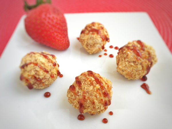Mexican Unfried Ice Cream Balls