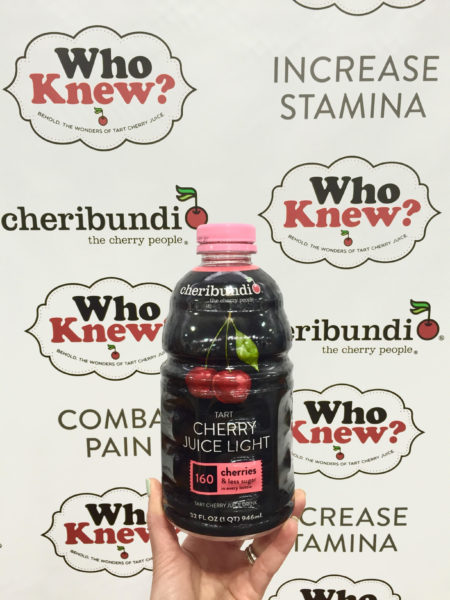 Cheribundi Light Tart Cherry Juice Summer Fancy Food Show 2016