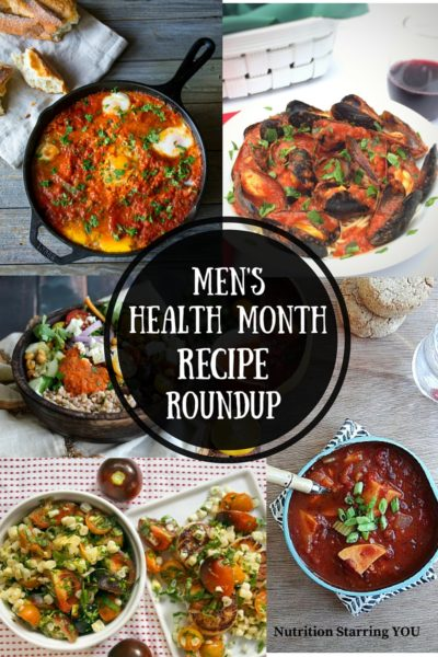 Men's Health Month Recipe Roundup