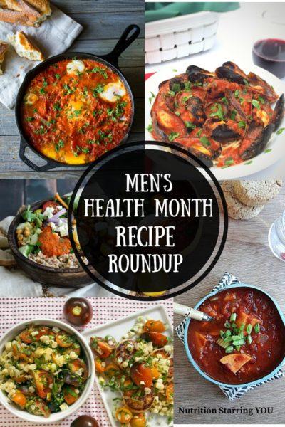Men's Health Month Recipe Roundup