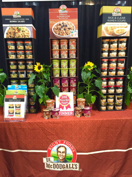 Dr. McDougall's Right Foods Quinoa Salads Summer Fancy Food Show 2016