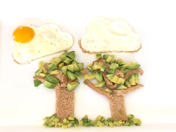 Sunny Eggs and Avocado Trees