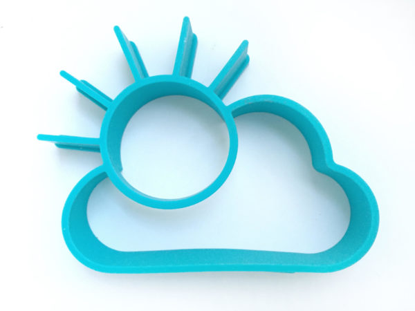 Silicon cloud mold