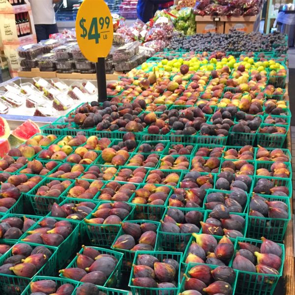 California figs at Whole Foods San Diego