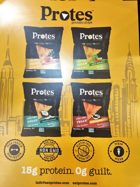 Protes Protein Chips Food Trends at Expo East 2016