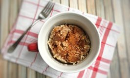 Apple Bread Pudding in a Mug