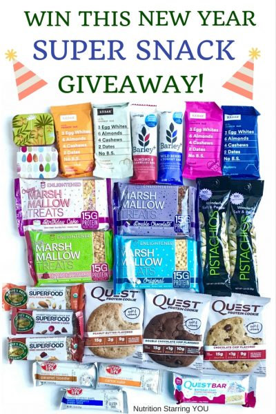 New Year Super Snack GiveawayNew Year Super Snack Giveaway
