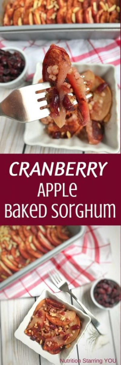 Cranberry Apple Baked Sorghum