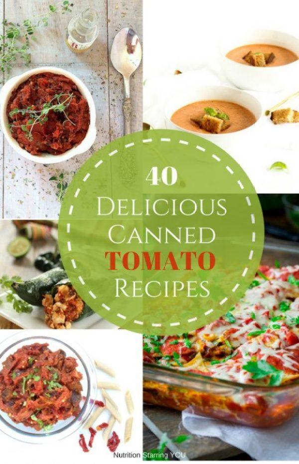40 Delicious Canned Tomato Recipes