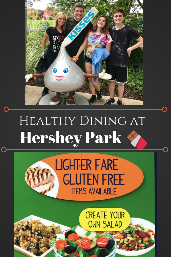 Healthy Dining at Hershey Park