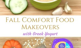 Fall comfort food makeovers with Greek yogurt