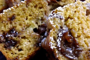 Banana Bread with Cherries and Chocolate Chips