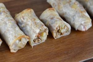 Potato & Barley Rice Paper Rolls Recipe