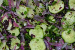 Cucumber, Dulse and Dill Pickled Salad Recipe