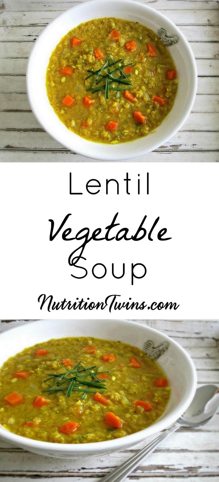 Lentil Soup Collage