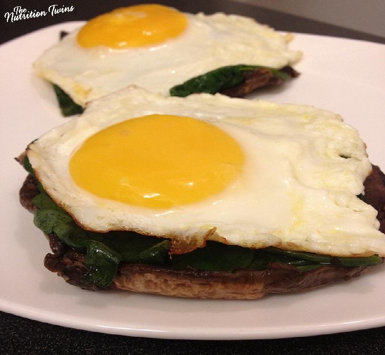 "Sunny Side Eggs_crop_Portobello ""bagel"""