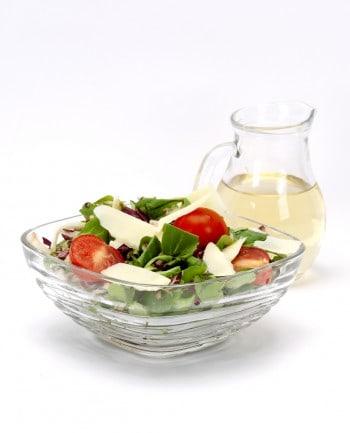 Salad with Apple Cider Vinegar