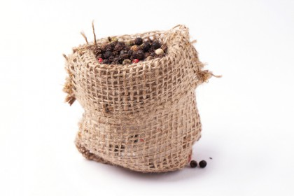 Sack of peppercorns