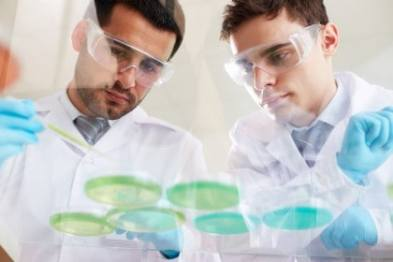Scientific Research Analyzing liquids