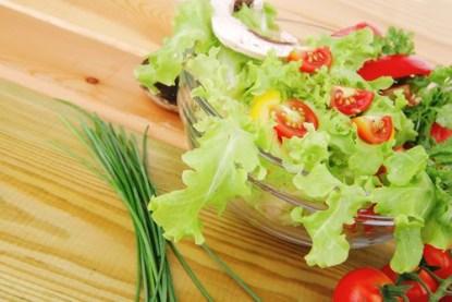 Salad. Low Fat Diet Concept.