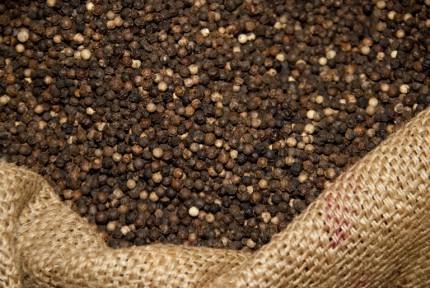 Bag of Black Peppercorns