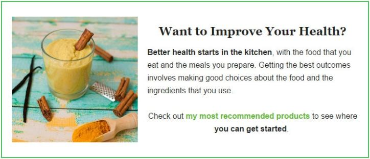 Want to Improve Your Health?