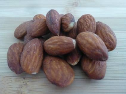 Collection of Almonds