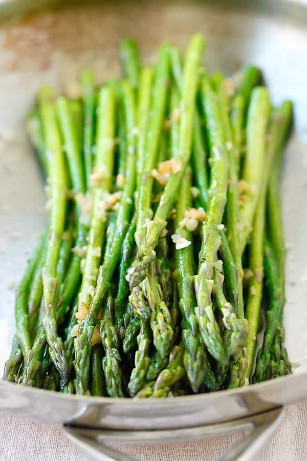 Garlic Butter Sauteed Asparagus